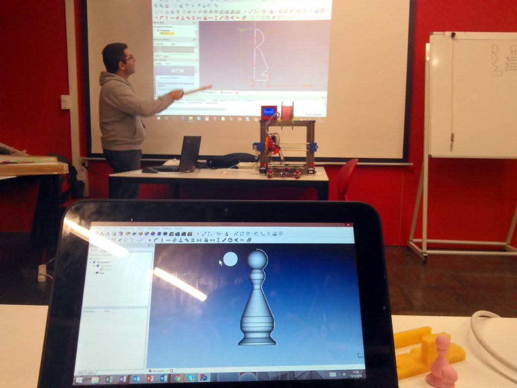 Taller de iniciación a la impresión 3D