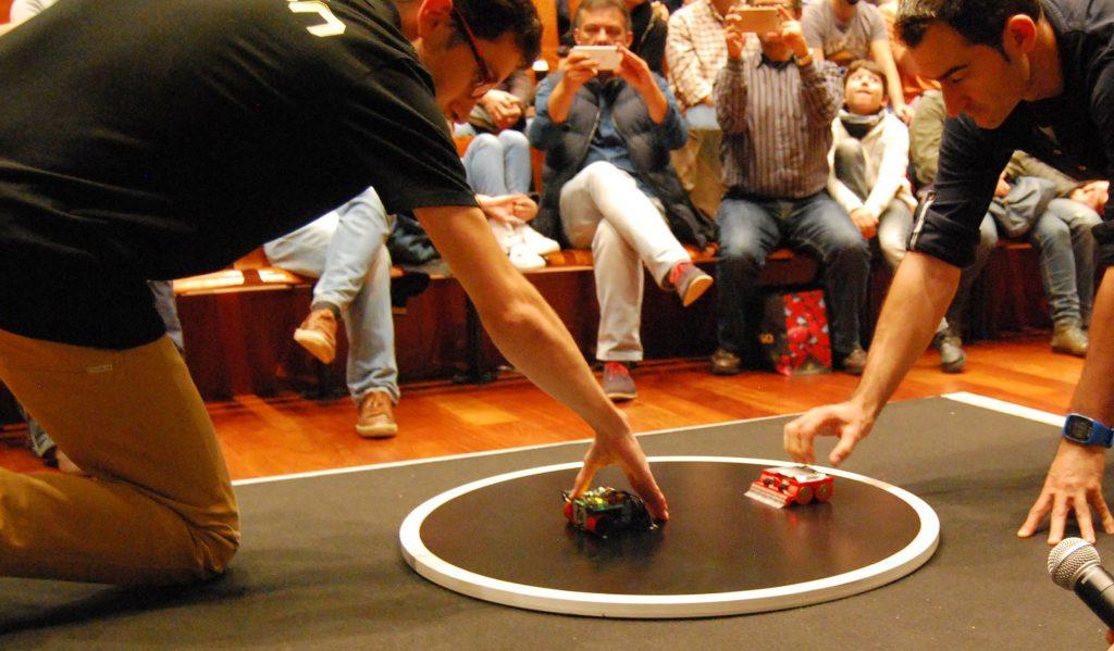 competición sumo robot OSHWDem 2016