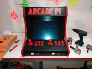Proyecto arcade PI OSHWDem 2017