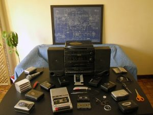Experimentos sonoros con cinta magnética