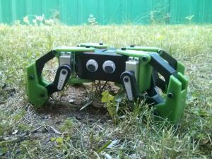 minikame2 charla de robots con patas OSHWDem 2017
