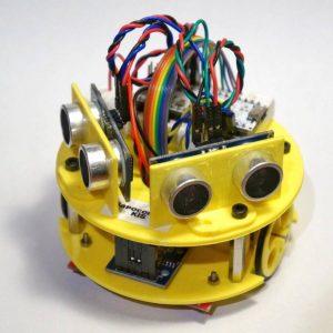 Robot Sapoconcho taller OSHWDem 2017