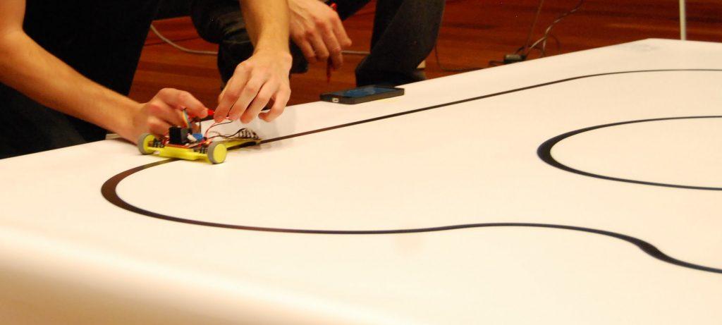competición de robots siguelineas