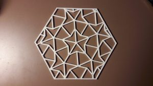Hexagono para el reto OSHWDem 2017