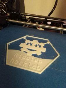 Hexagono reto impresion 3D OSHWdem 2017