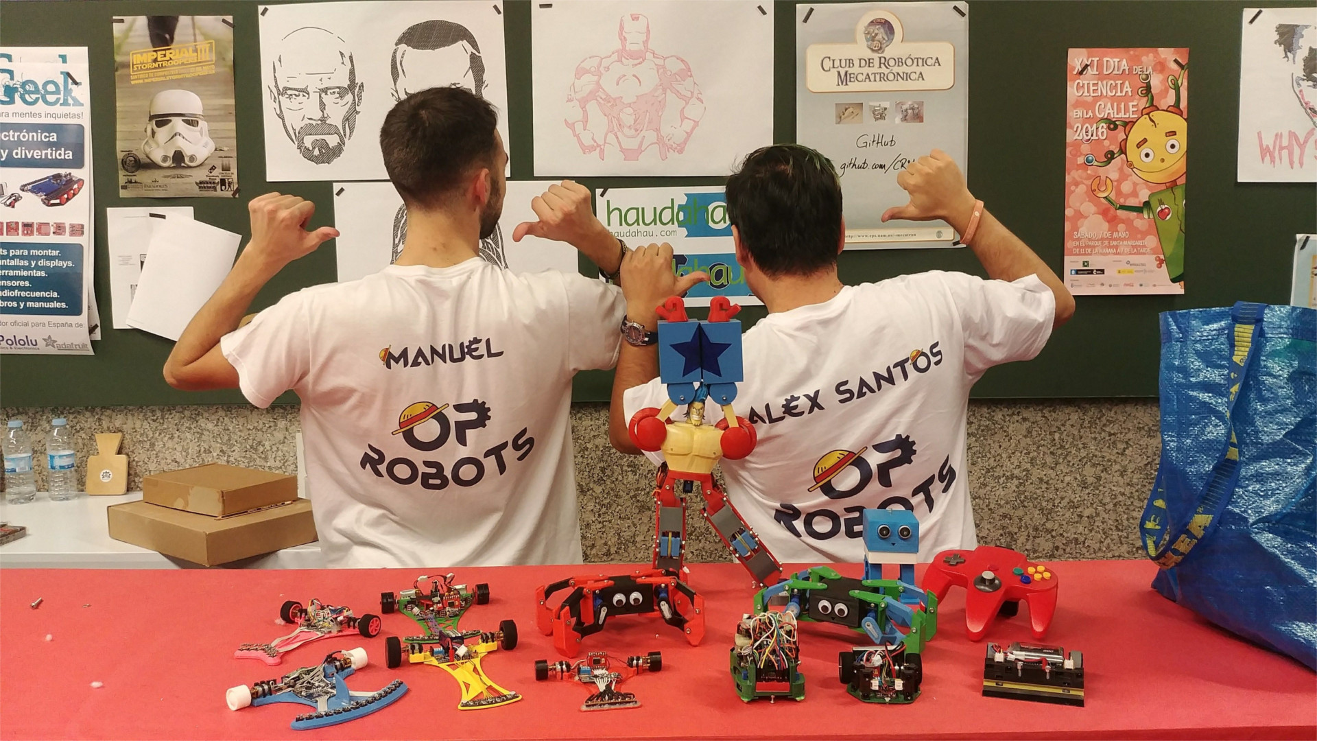 OPRobots OSHWDem 2018